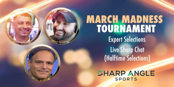 Welcome to Sharp Angle Sports - March Madness Packages Now Available!